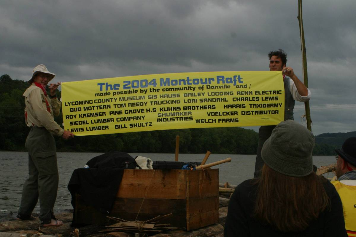 The Story of the Montour Log Raft